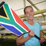 First time rowing for SA